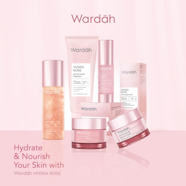 Wardah Hydra Rose Series Skincare Untuk Menjaga Hidrasi Kulit Agar Tak Kering Kumparan Com