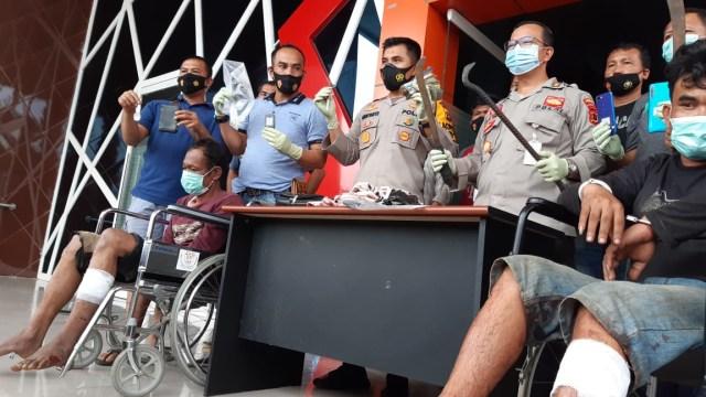 Melawan Saat Ditangkap, Perampok Ruko di Muaro Jambi Ditembak Polisi (63570)