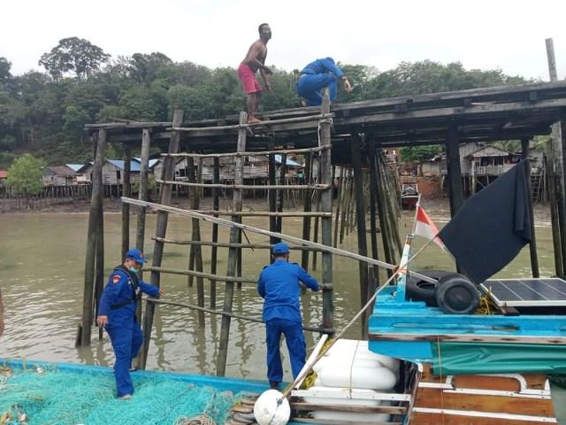 Kapal Nelayan di Kuba, Karimun, Dilaporkan Tenggelam Akibat Cuaca Buruk (13610)