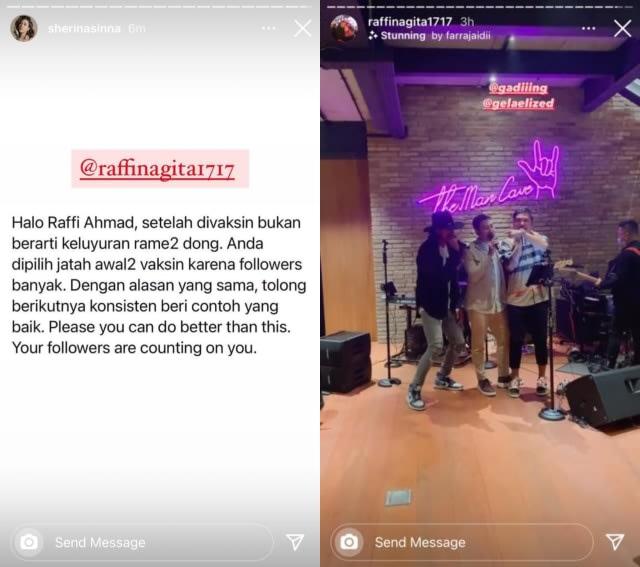 Kepergok Keluyuran Usai Divaksin, Raffi Ahmad Jadi Trending Topic di Twitter (242621)