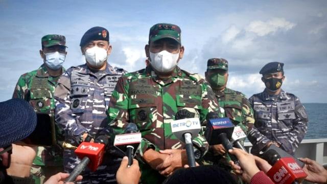 Update Pencarian Korban Sriwijaya Air SJ 182 Hari Keenam (3)