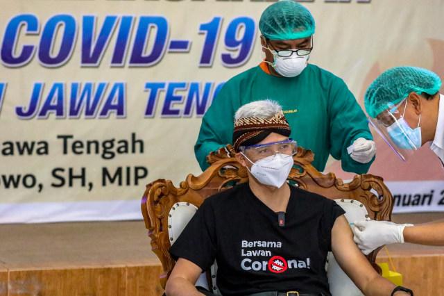 470 Nakes di Semarang Disuntik Vaksin, 70 Tak Hadir Tanpa Alasan, 61 Menunda (296197)
