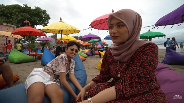 7 Potret Manja Rizwan dan Ferdi Bareng Nathalie Holscher saat Liburan di Bali (33983)