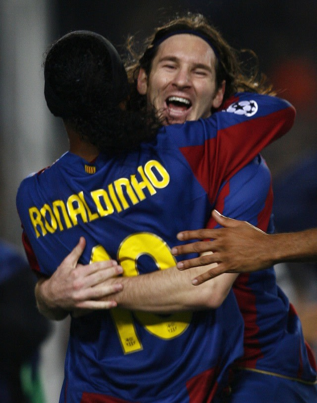 Cristiano Ronaldo Ternyata Pernah Hampir Setim dengan Lionel Messi di Barcelona (396919)