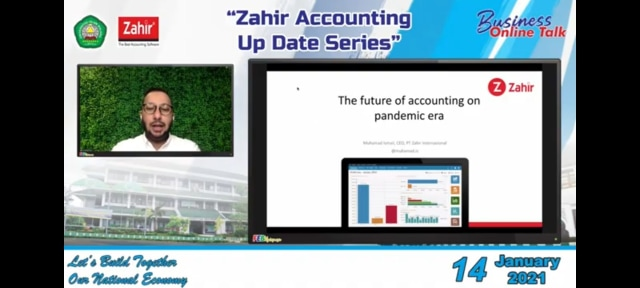 Bahas Update Digital Accounting Series, FEB Unisma Gelar Business Online Talk (10001)