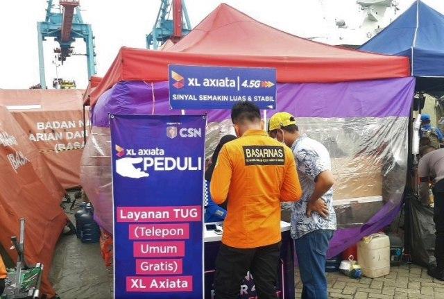 Evakuasi Sriwijaya Air SJ 182: XL Axiata Perkuat Jaringan di Kepulauan Seribu (76936)