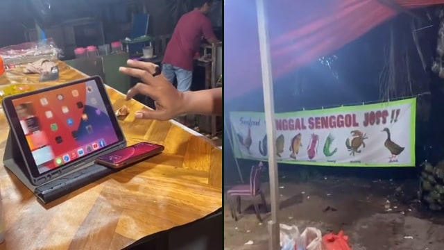 Ketika Tukang Pecel Lele Bergaya Sultan, Deretan Gadget-nya Bikin Minder (336527)