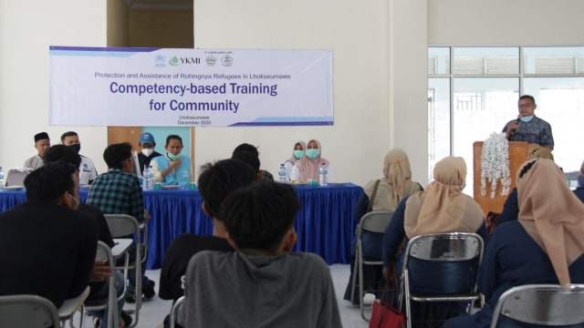 UNHCR dan YKMI Beri Pelatihan Keterampilan untuk Pengungsi Rohingya di Aceh  (124808)