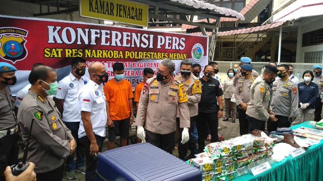 Kurir 25 Kg Sabu Asal Pasuruan Tewas Ditembak di Medan (235732)