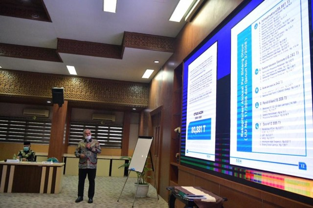Pemerintah Aceh Luncurkan Buku DOA, Berisi Kumpulan Data Penggunaan Dana Otsus (415140)