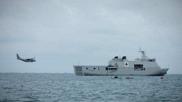 TNI AL Kerahkan Pesawat Patroli Maritim, Cari Sriwijaya Air di Permukaan Laut (10730)