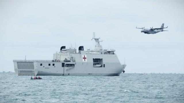 TNI AL Kerahkan Pesawat Patroli Maritim, Cari Sriwijaya Air di Permukaan Laut (10729)