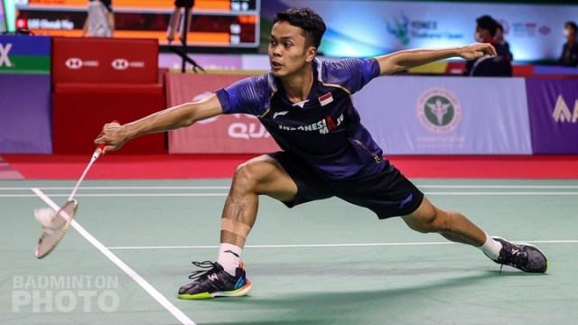 BWF World Tour Finals: Kalah 2 Gim, Anthony Ginting Tak Berkutik Lawan Axelsen (1)