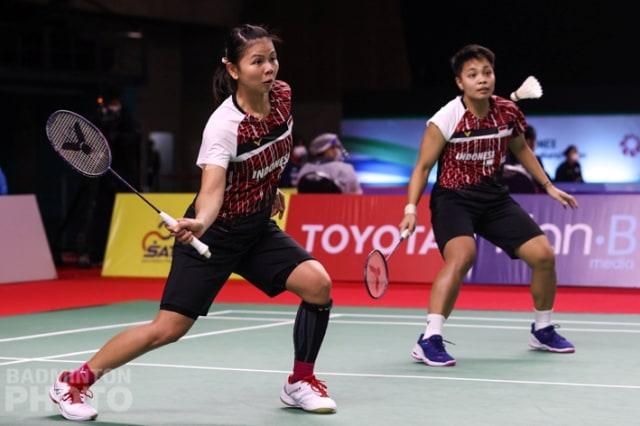 BWF World Tour Finals: Greysia/Apriyani Tundukkan Korea via 3 Gim Ketat (1)