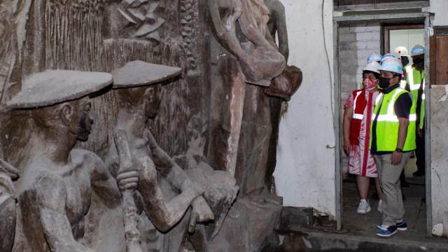 Misteri Relief Warisan Soekarno di Sarinah Dibuka Erick Thohir ke Publik (75739)