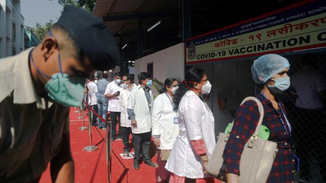 India Sumbang Hampir 50 Persen Kasus Infeksi Virus Corona di Dunia Pekan Lalu (95624)