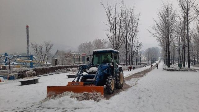 Acehkini Jalan-jalan: Pesona Salju di Kota Seoul (81063)