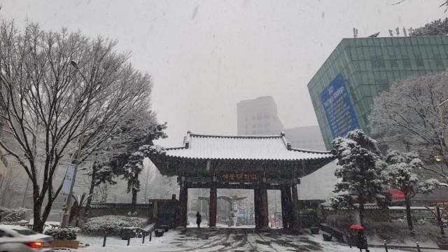 Acehkini Jalan-jalan: Pesona Salju di Kota Seoul (81067)