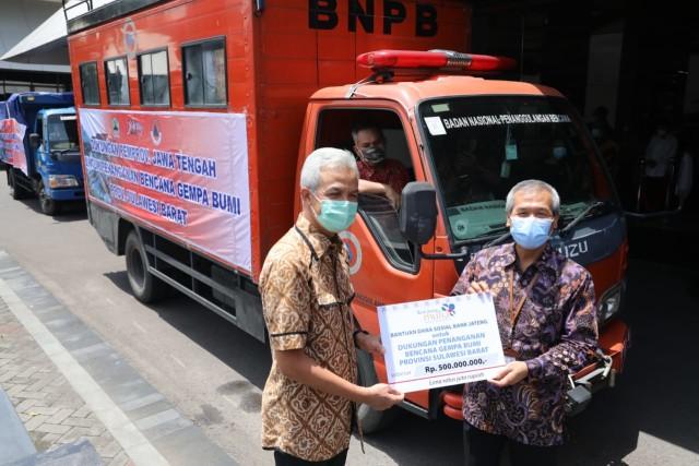 Pemprov Jateng Kirim 15 Relawan dan Bantuan Penanganan Gempa Sulbar (468210)