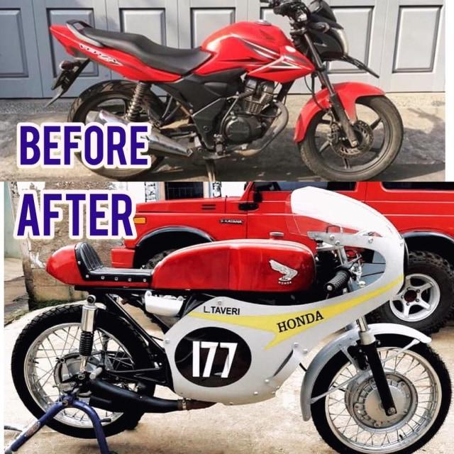 Bikin Pangling, Honda Verza Dirombak Jadi RC149, Modalnya Berapa? (17353)
