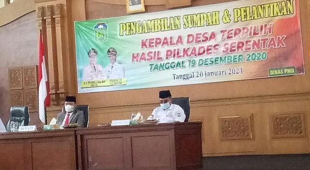 Tersandung Kasus Dugaan Tindak Pidana, 2 Kades di Jambi Tetap Dilantik (253786)