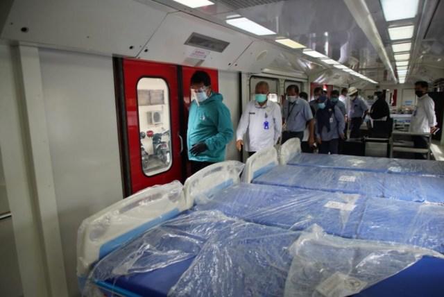 Pemkot Madiun Pinjam Gerbong KA Isolasi untuk Tampung Pasien Covid-19 (60056)