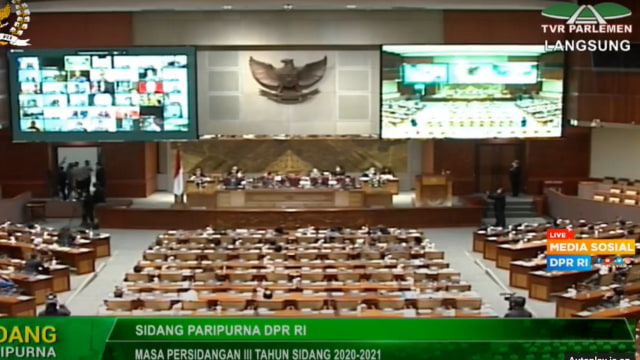 DPR Setujui Pemberhentian Jenderal Idham Azis sebagai Kapolri (25596)