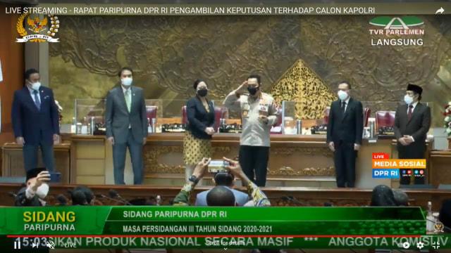 DPR Setujui Pemberhentian Jenderal Idham Azis sebagai Kapolri (25594)