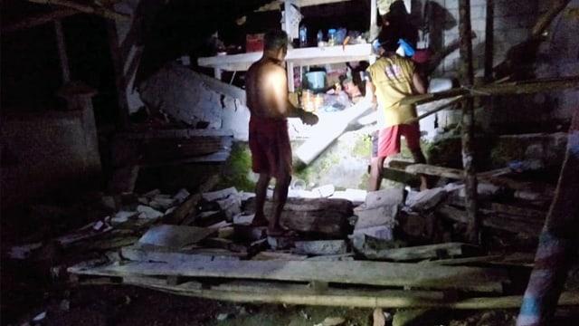 Foto: Kerusakan di Talaud, Sulawesi Utara, Akibat Gempa (244621)