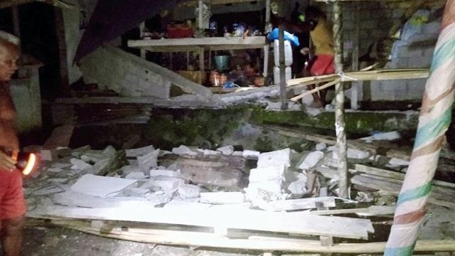 Foto: Kerusakan di Talaud, Sulawesi Utara, Akibat Gempa (244623)