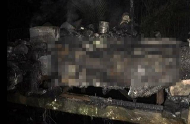 Sebuah Pondok di Kotim Terbakar, Pemiliknya Tewas Terpanggang (45675)