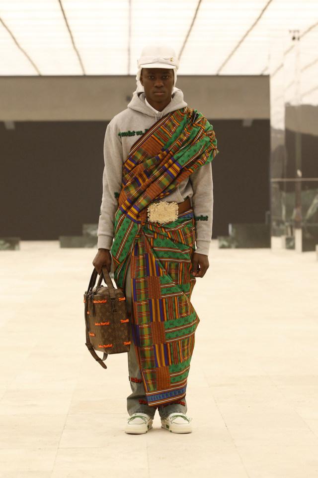 Inspirasi Budaya Afrika di Koleksi Terbaru Busana Pria Louis Vuitton (214719)