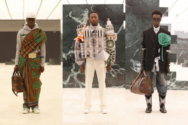 Inspirasi Budaya Afrika di Koleksi Terbaru Busana Pria Louis Vuitton (214718)
