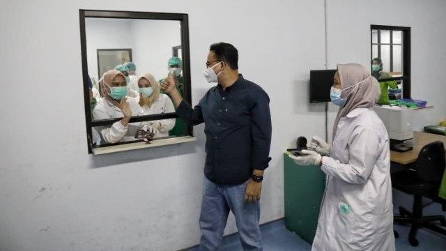 Okupansi RS COVID-19 Jakarta Tunjukkan Tren Positif: Bed Isolasi 35%, ICU 41% (130300)