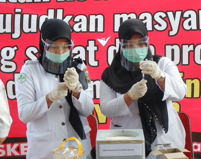 Jurnalis Lampung Akan Masuk Dalam Sasaran Vaksinasi Tahap Kedua (59361)