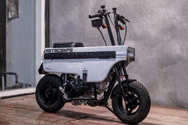 Modifikasi Honda BeAT Jadi Motocompo, Motor Unik yang Bisa Dilipat! (88291)