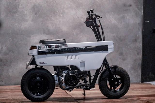 Modifikasi Honda BeAT Jadi Motocompo, Motor Unik yang Bisa Dilipat! (88295)