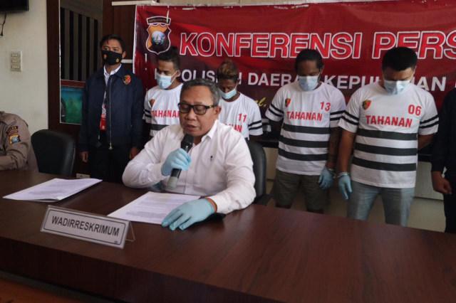 Perampok Bersenjata Gunting di Batam Dibekuk Polisi (42320)