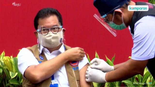 Prof Wiku Yakin Hilangnya Kemenristek Tak Halangi Progres Vaksin Merah Putih (364713)