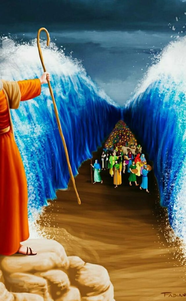 Kisah Nabi Musa Singkat saat Membelah Laut (185923)