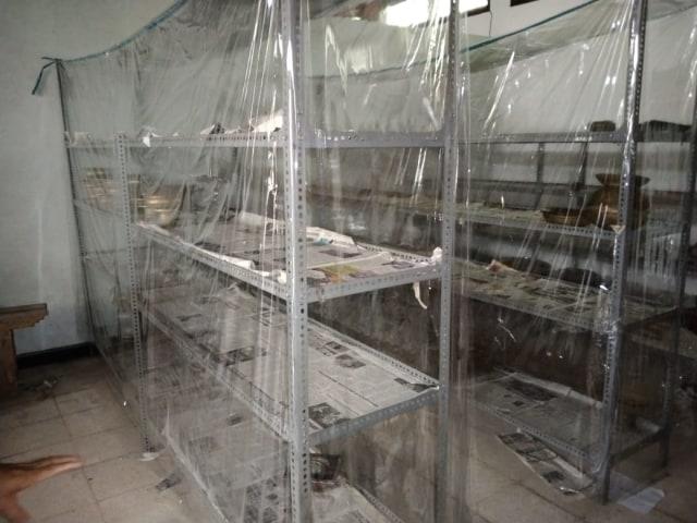 Foto: Kondisi Museum Sultra, Kota Kendari Usai Dibobol Pencuri (51682)
