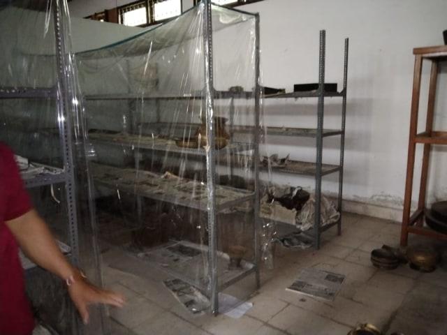 Foto: Kondisi Museum Sultra, Kota Kendari Usai Dibobol Pencuri (51683)