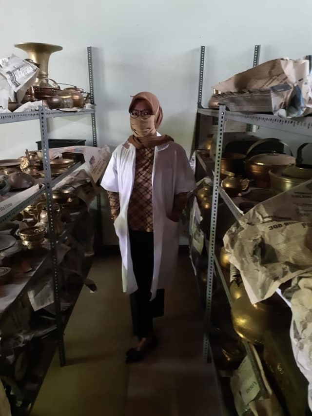 Foto: Kondisi Museum Sultra, Kota Kendari Usai Dibobol Pencuri (51686)