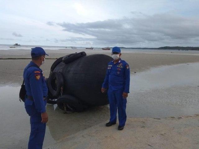 Tak Perlu Panik, Bola Hitam Besar yang Ditemukan di Bintan Adalah Dapra  (59312)