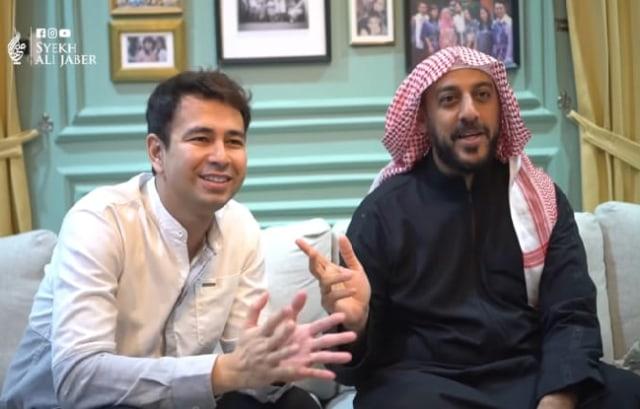 Bertemu Putra Syekh Ali Jaber, Ini Harapan Raffi Ahmad (93772)