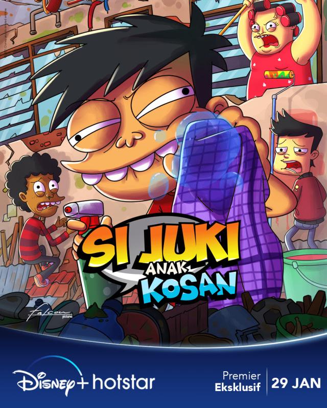 Si Juki Anak Kosan Jadi Serial Animasi Indonesia Pertama di Disney Plus Hotstar (290439)