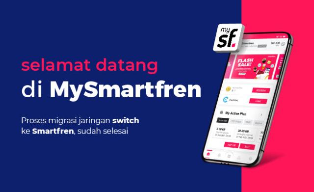 Operator Switch Resmi Bubar, Pelanggannya Gabung ke Smartfren (155668)