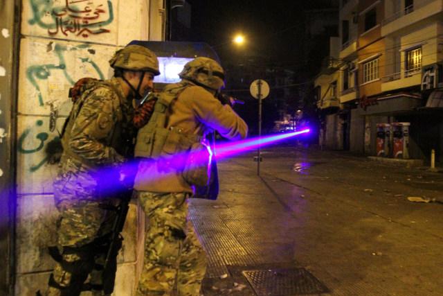Demo Tolak Lockdown di Lebanon Rusuh, 226 Orang Terluka (1)
