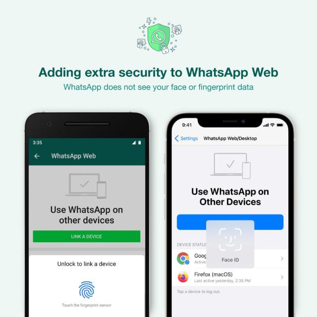Login WhatsApp Web Kini Harus Scan Sidik Jari dan Wajah di HP (1)