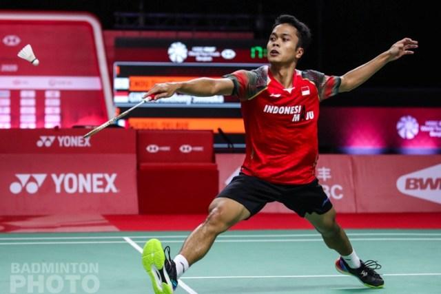 BWF World Tour Finals: Bertarung 3 Gim, Anthony Ginting Kalahkan Wakil Malaysia (1)